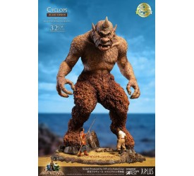 The 7th Voyage of Sinbad Soft Vinyl Statue Ray Harryhausens Cyclops Deluxe Version 32 cm