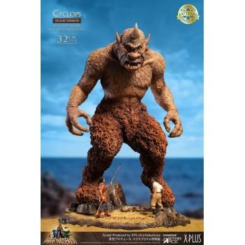 The 7th Voyage of Sinbad Soft Vinyl Statue Ray Harryhausens Cyclops Deluxe Version 32 cm