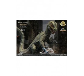 The Beast from 20,000 Fathoms Soft Vinyl Statue Ray Harryhausens Rhedosaurus Color Deluxe Version