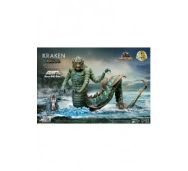 Clash of the Titans Gigantic Soft Vinyl Statue Ray Harryhausens Kraken Deluxe Version 35 cm