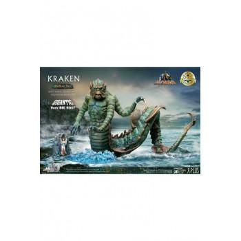 Clash of the Titans Gigantic Soft Vinyl Statue Ray Harryhausens Kraken Deluxe Version 35 cm