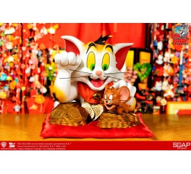 Tom and Jerry Maneki-Neko Version PVC Bust