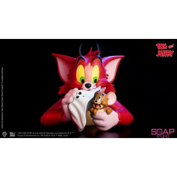 Tom and Jerry Devil Vinyl Bust