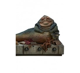Star Wars Episode VI Action Figure 1/6 Jabba the Hutt and Throne Deluxe 34 cm