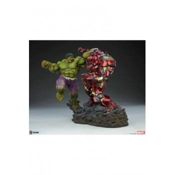 Marvel Maquette Hulk vs Hulkbuster 50 cm