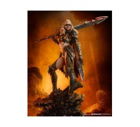 Sideshow Originals Statue Dragon Slayer Warrior Forged in Flame 47 cm