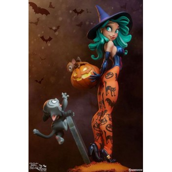 Happy HallowQueens Collection Statue Pumpkin Witch by Chris Sanders 34 cm
