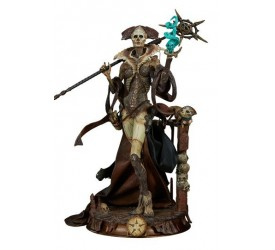 Court of the Dead PVC Statue Xiall - Osteomancers Vision 33 cm