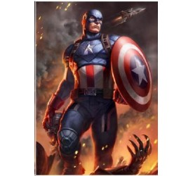 Marvel: Captain America Unframed Art Print