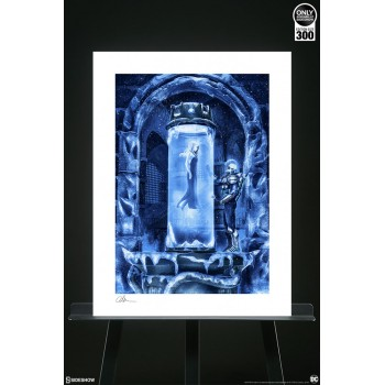 DC Comics Art Print Mr. Freeze Heart of Ice 46 x 61 cm unframed