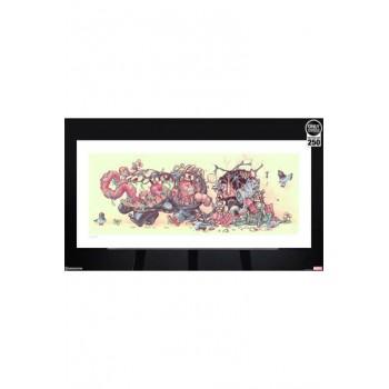 Marvel Art Print Venom The Symbiote Stroll by Tien Hee 76 x 36 cm unframed