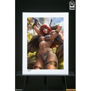 Dynamite Entertainment Art Print Red Sonja by Derrick Chew 61 x 46 cm unframed