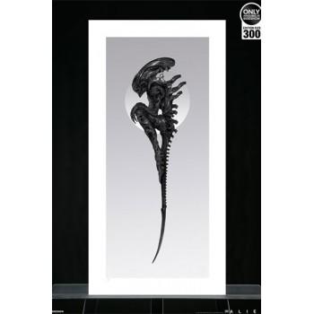 Alien Art Print Perfect Specimen by Nekro 81 x 41 cm unframed