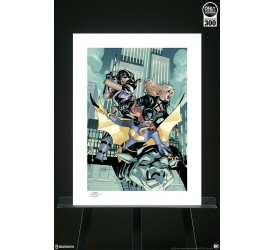 DC Comics Batgirl and the Birds of Prey Unframed Art Print