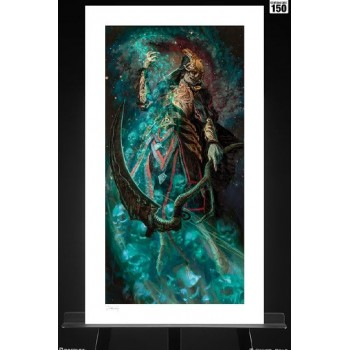 Court of the Dead Art Print Death Ascending by Dave Seeley 46 x 81 cm unframed