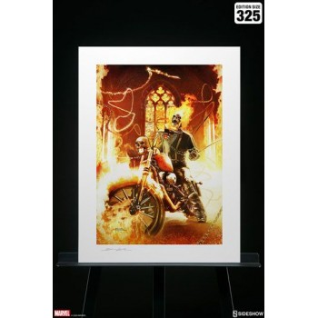 Marvel Art Print Ghost Rider 46 x 61 cm unframed