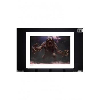 Star Wars Art Print The Rancor 61 x 46 cm unframed