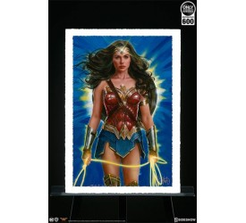 DC Comics Art Print Wonder Woman Lasso of Truth 46 x 61 cm unframed