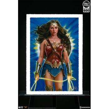 DC Comics Art Print Wonder Woman Lasso of Truth 46 x 61 cm unframed