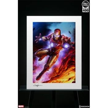 Marvel Art Print Iron Man 46 x 61 cm unframed
