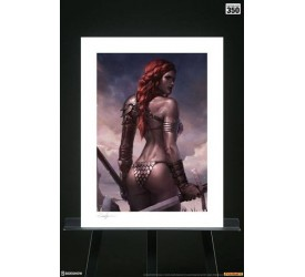 Red Sonja Art Print Birth of the She-Devil (Pre-Battle Version) 46 x 61 cm unframed