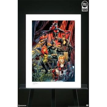 DC Comics Art Print Batman Detective Comics #1000 46 x 61 cm unframed