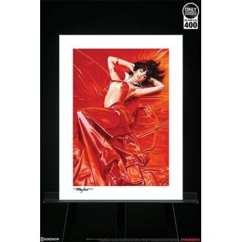 Vampirella Art Print Vampirella Roses for the Dead 46 x 61 cm unframed