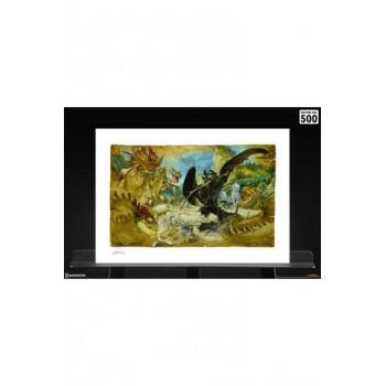 How to Train Your Dragon Art Print Ecto-1 46 x 61 cm unframed