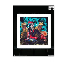 DC Comics Art Print Bud and Lou 56 x 56 cm unframed