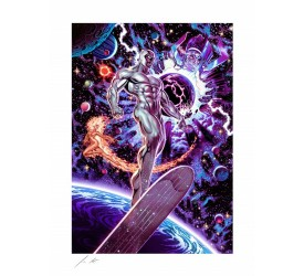 Marvel Comics Art Print Heralds of Galactus 46 x 56 cm unframed