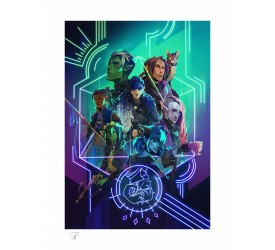 Critical Role Art Print The Mighty Nein Nat 20! 46 x 61 cm unframed