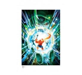 Fantastic Four Art Print Hand of Doom 46 x 61 cm - unframed