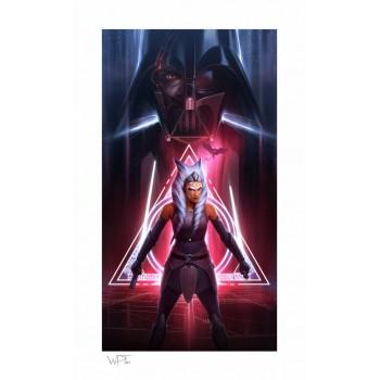 Star Wars Art Print Ahsoka Tano: Between Worlds 46 x 66 cm unframed