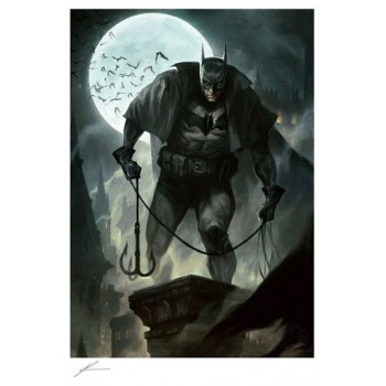 DC Comics Art Print Batman Gotham by Gaslight 46 x 61 cm unframed