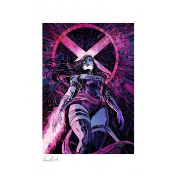 Marvel Art Print Psylocke 46 x 61 cm unframed