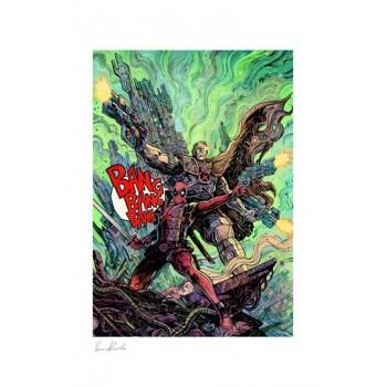 Marvel Art Print Deadpool and Cable 46 x 61 cm unframed