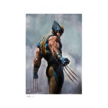 X-Men Art Print Wolverine 46 x 61 cm unframed