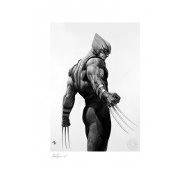 X-Men Art Print Wolverine Black and White Variant 46 x 61 cm unframed