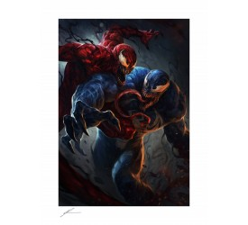 Marvel Art Print Venom vs Carnage 46 x 61 cm unframed