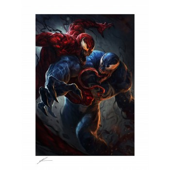 Marvel Art Print Venom vs Carnage 46 x 61 cm unframed