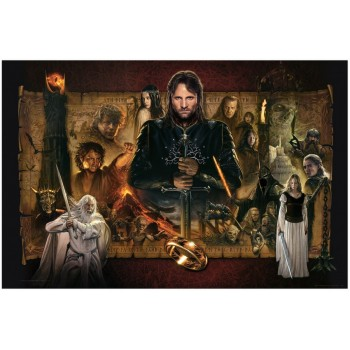 Lord of the Rings Fine Art Print Giclee The Return of the King 61 x 91 cm