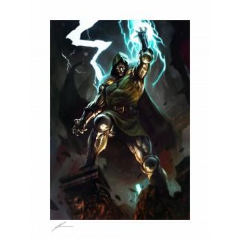 Marvel Art Print Doctor Doom 46 x 61 cm unframed