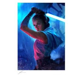 Star Wars Art Print The Duel: Rey 46 x 61 cm unframed