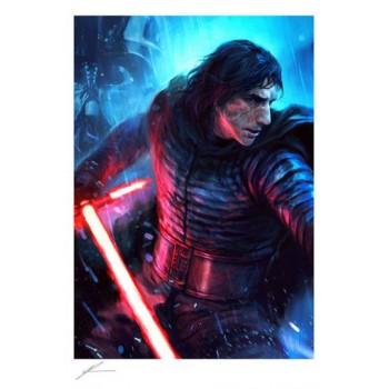Star Wars Art Print The Duel: Kylo Ren 46 x 61 cm unframed