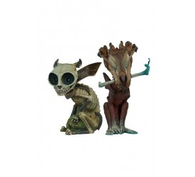 Court of the Dead Court Critters Collection Statue 2-Pack Skratch & Riazz