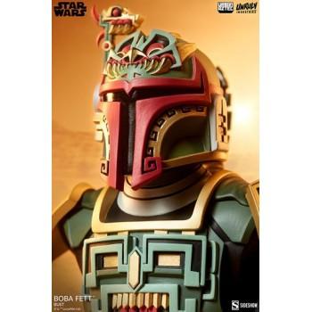 Star Wars Urban Aztec Vinyl Bust Boba Fett by Jesse Hernandez 20 cm