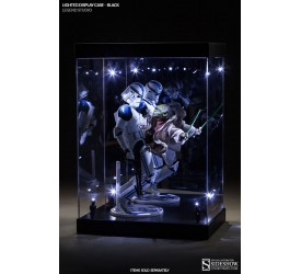 Lighted Display Case Regular Black