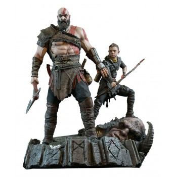 God of War 2018 Statue Kratos and Atreus 38 cm