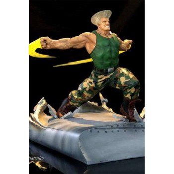 Street Fighter War Heroes Diorama 1/6 Guile 42 cm