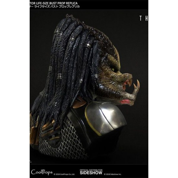 The Predator Bust 1/1 Fugitive Predator 63 cm